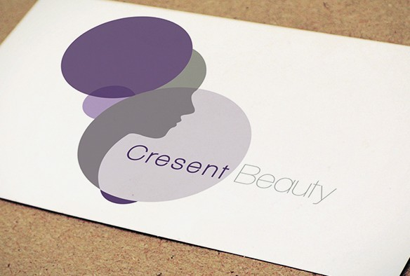 Beauty Semi Transparent Logo