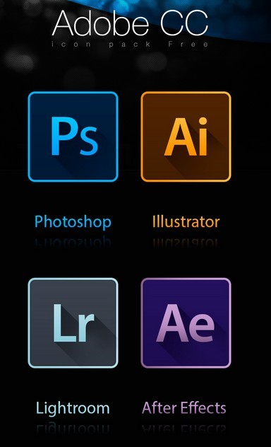 Free icons Adobe CC