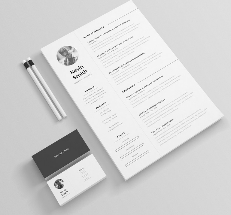 130 New Fashion Resume Cv Templates For Free Download 2020 Update 365 Web Resources