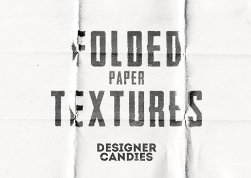Hi-Res Folded Paper Textures