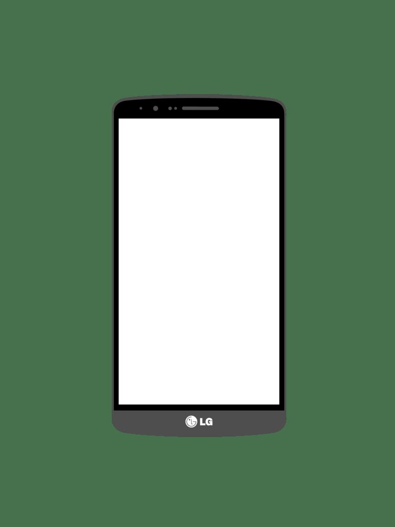 LG G3 Mockup PSD