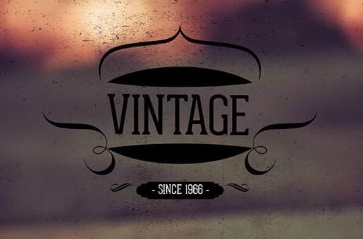 10 Vintage retro Labels Vol 2