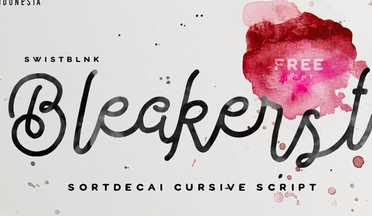 Bleakerst Free Font
