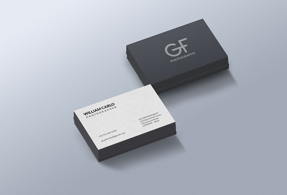 Free Business Card Mockup PSD