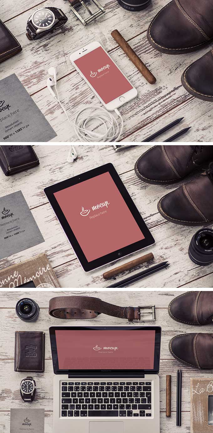 Stationary Device Mockups
