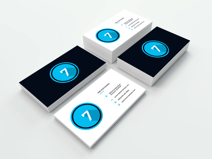 Business Card Mockup Vol11