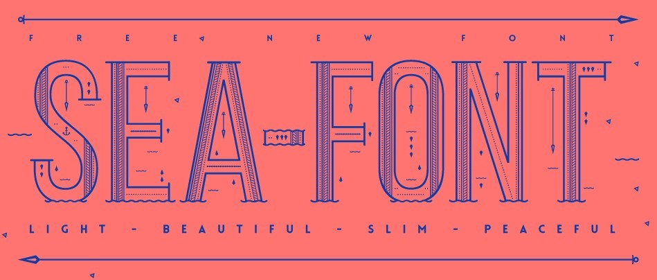 Sea Free Font
