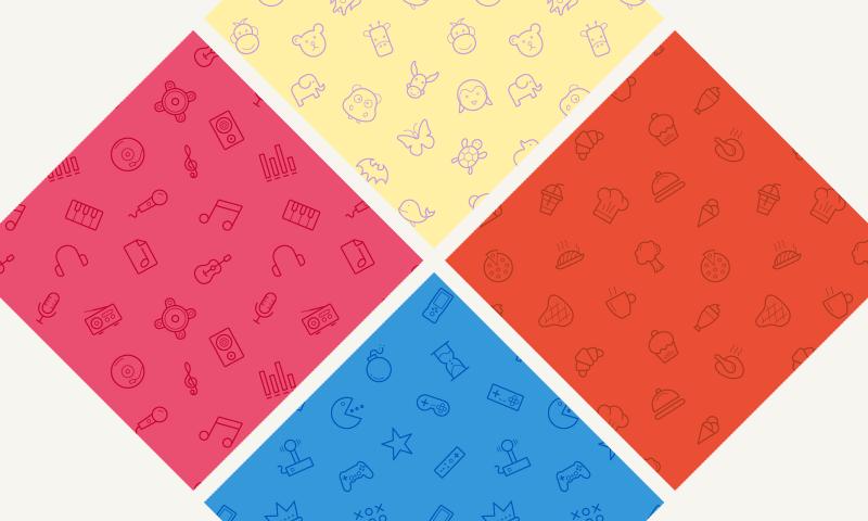 Seamless Icon Patterns