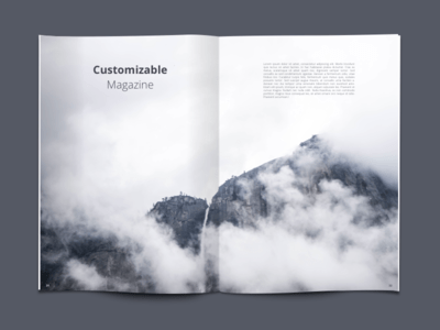 Customizable Magazine