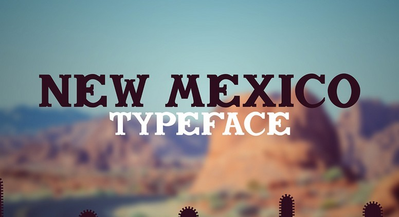New Mexico Typeface