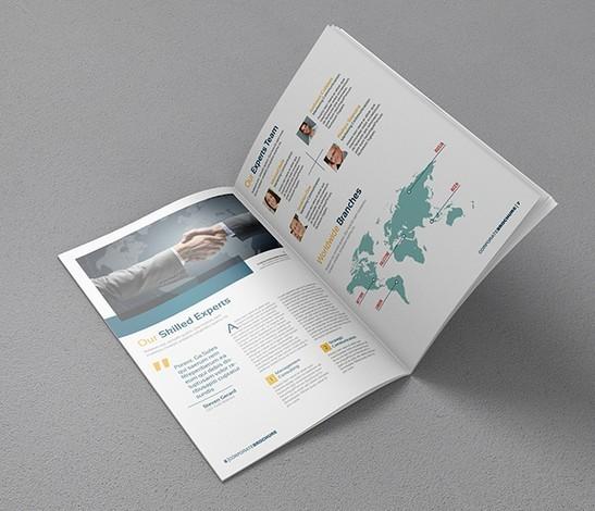 A4 Brochure Mock-up