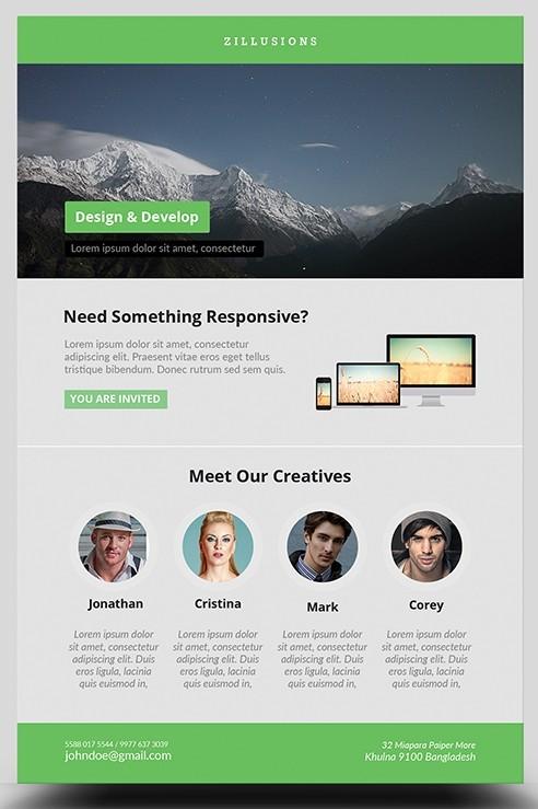 Creative Business Flyer (Freebie)