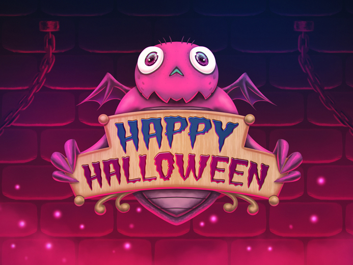 Free Happy Halloween Digital Painting
