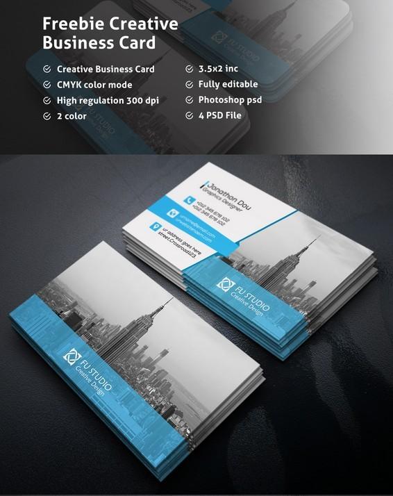 Freebie Creative Business Card