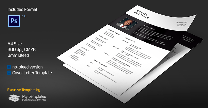 Professional Resume + Cover Letter Template