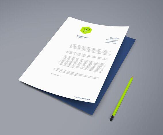 A4 Paper PSD Mockup Vol2