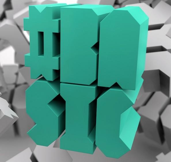 Hashtag Basic Typeface