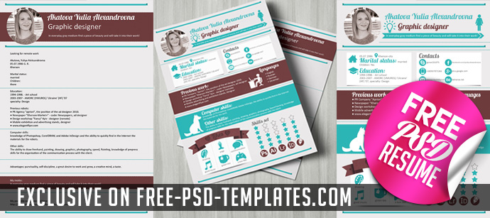 Resume Designer – FREE Resume CV Template