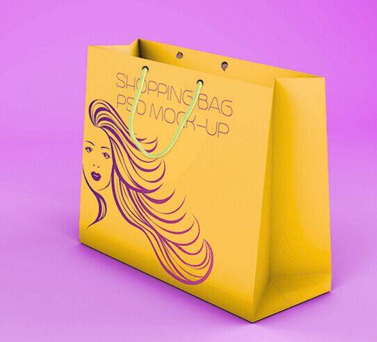 Shopping Bag Mock-up