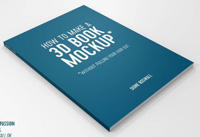 3D Book Mockup (freebie)