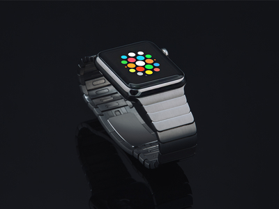 Apple Watch Mockup (PSD)