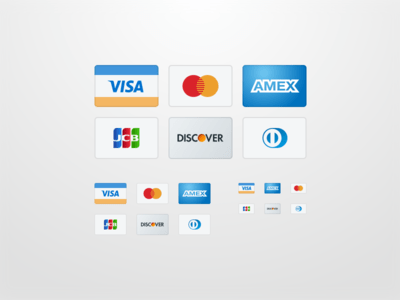 Credit Card Icons - Sketch File