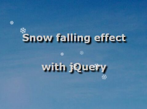 Realistic-Snow-Falling-Effect-with-jQuery-CSS3-snow-js