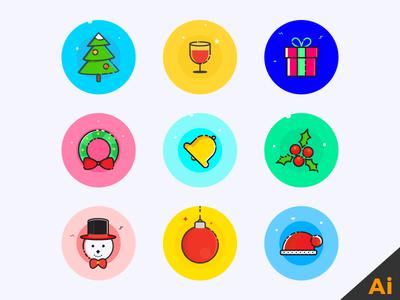 xmas-icons-freebie