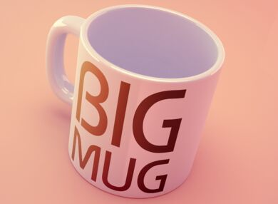 Big Mug Mock-up
