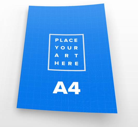 Free A4 Paper PSD Mockups