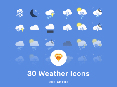 Weather Icons [sketch]