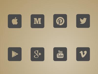 15 free social icons