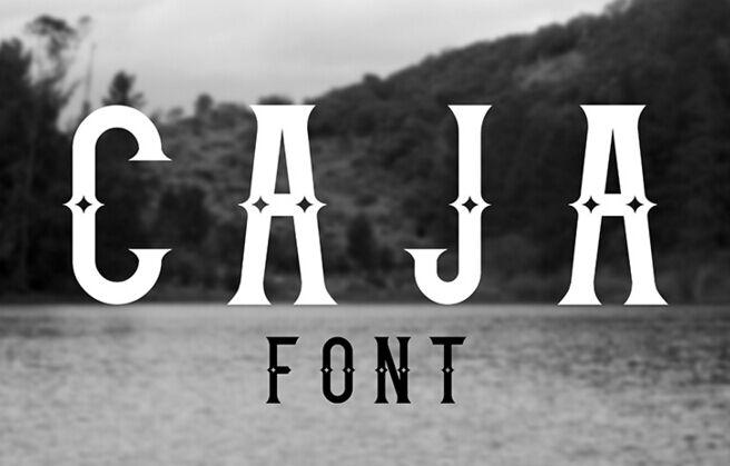 Caja - Free Font