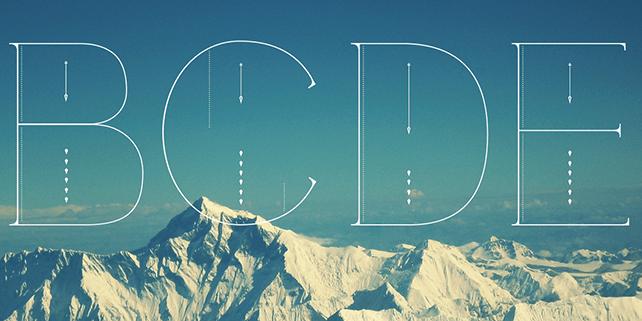 Fina – ultra thin, modern font
