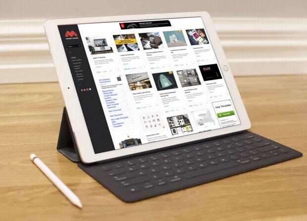 Free 12.9-inch iPad Pro Mockup Vol.2