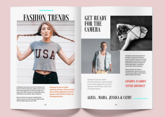 40 magazine mockups templates for free download for Magazine cover page template psd