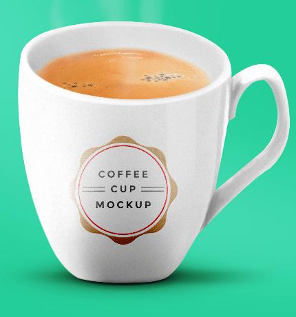 Coffee Cup Mockup PSDCoffee Cup Mockup PSD