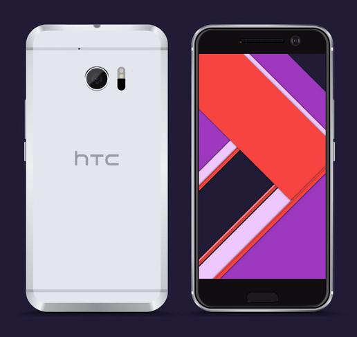 Free Vector HTC 10 Model