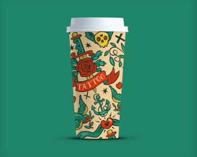 Free 4K Coffee Cup PSD mockup