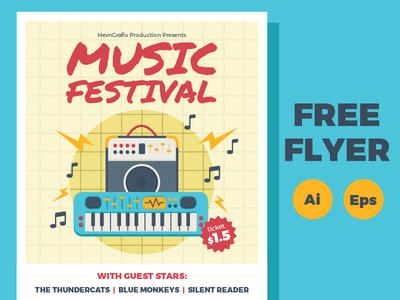 free-music-festival-flyer