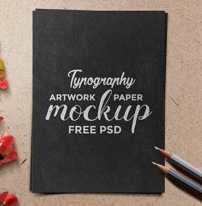 typography-artwork-paper-mockup-psd