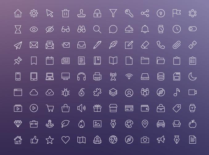 iOS Edge Icon Set