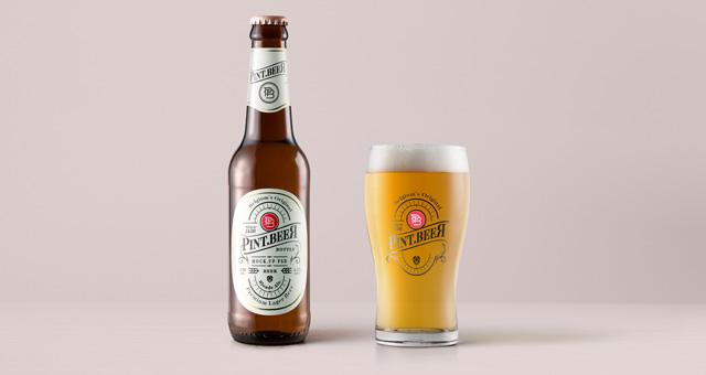 amber-psd-beer-bottle-mockup