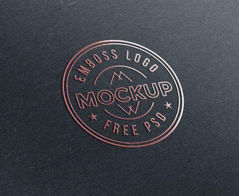 emboss-paper-logo-mockup-psd