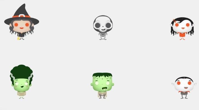 freebie-halloween-cute-monsters