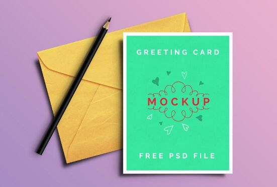 25 best free greeting invitation card mockups for graphic greeting card psd mockups m4hsunfo