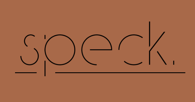 speck-display-free-typeface