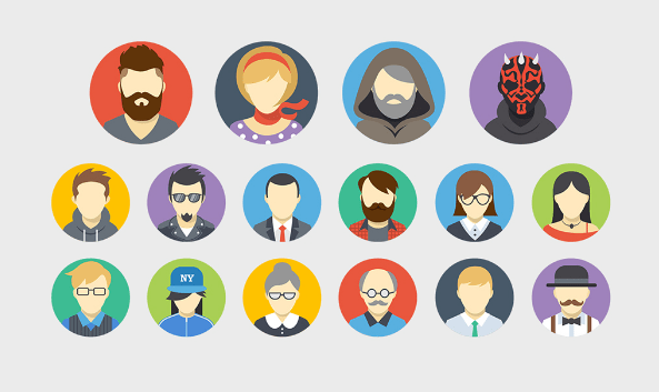 free-avatars-flat-icons