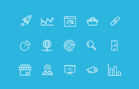 20+ Best Free SEO & Online Marketing Icon Sets (Updated For