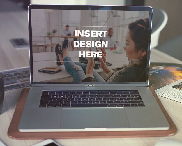 2 Free Realistic Macbook Pro Mockup (2017)